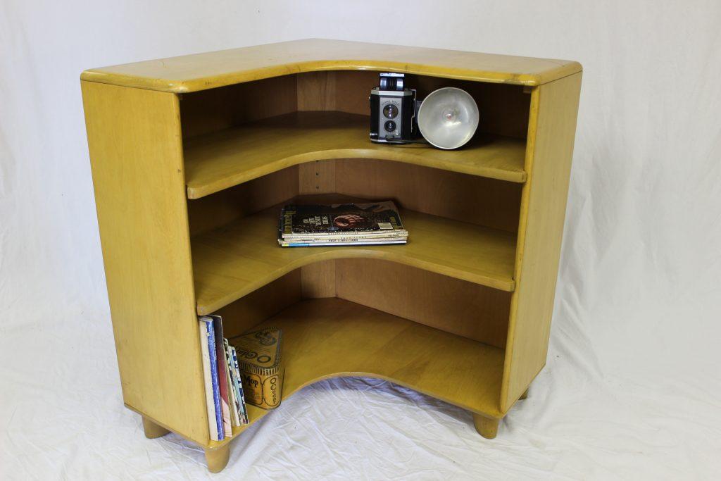 Corner Bookcase From Heywood Wakefield ·  Http://grestuff.com/wp Content/uploads/2014/