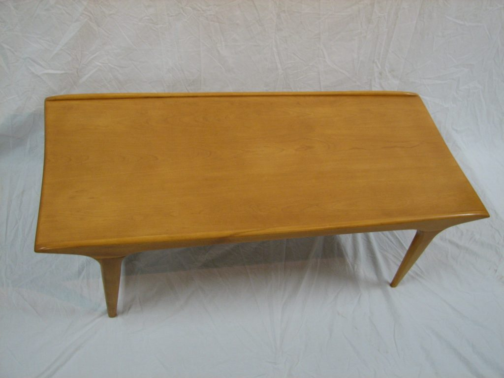 heywood wakefield coffee table m1580 specializing in mid century
