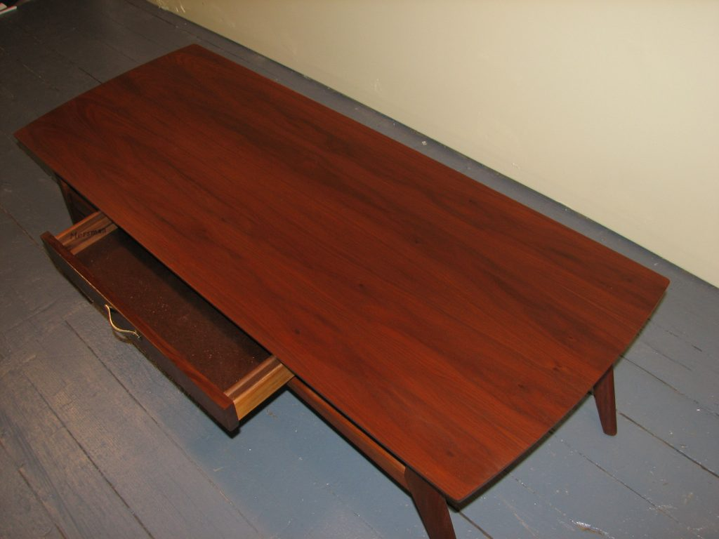 Mid century modern Mersman tables 3pc Specializing in Mid Century Modern furniture and accessories.
