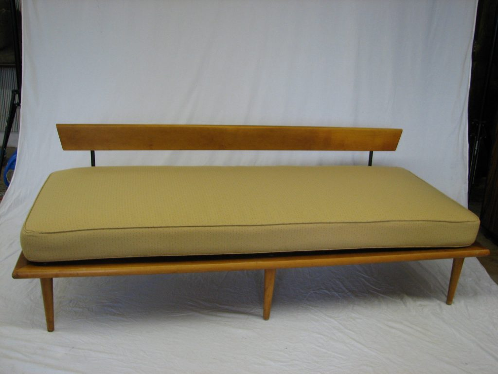 Mid century modern george nelson daybed specializing in for Mid century modern day bed