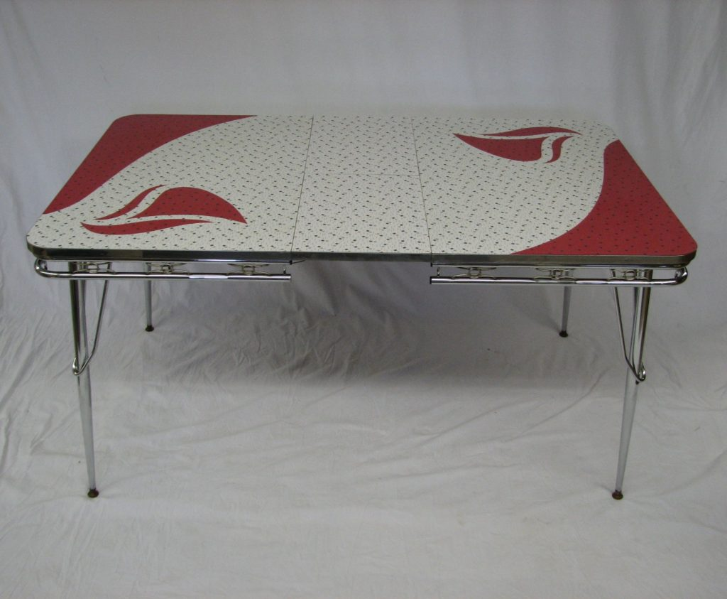 red 1950 s samton kitchen set specializing in mid century modern