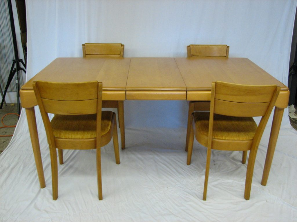 Heywood Wakefield Dogbone Dining Set By Best Room Photos Rugoingmyway Us