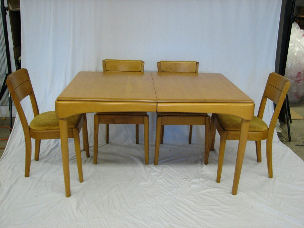 best heywood wakefield dining room table photos