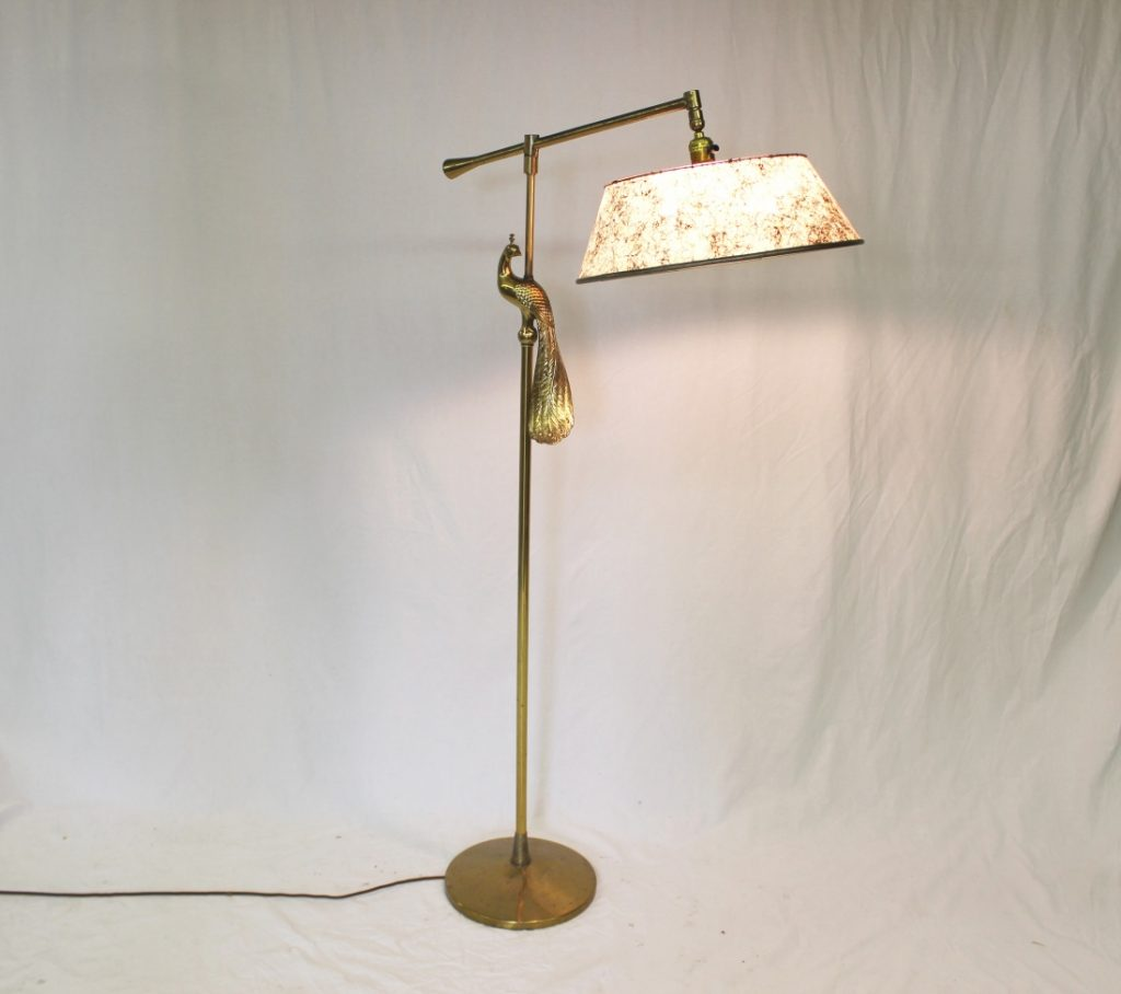 Mid Century Rembrandt Lamp: Rembrandt Peacock Lamp