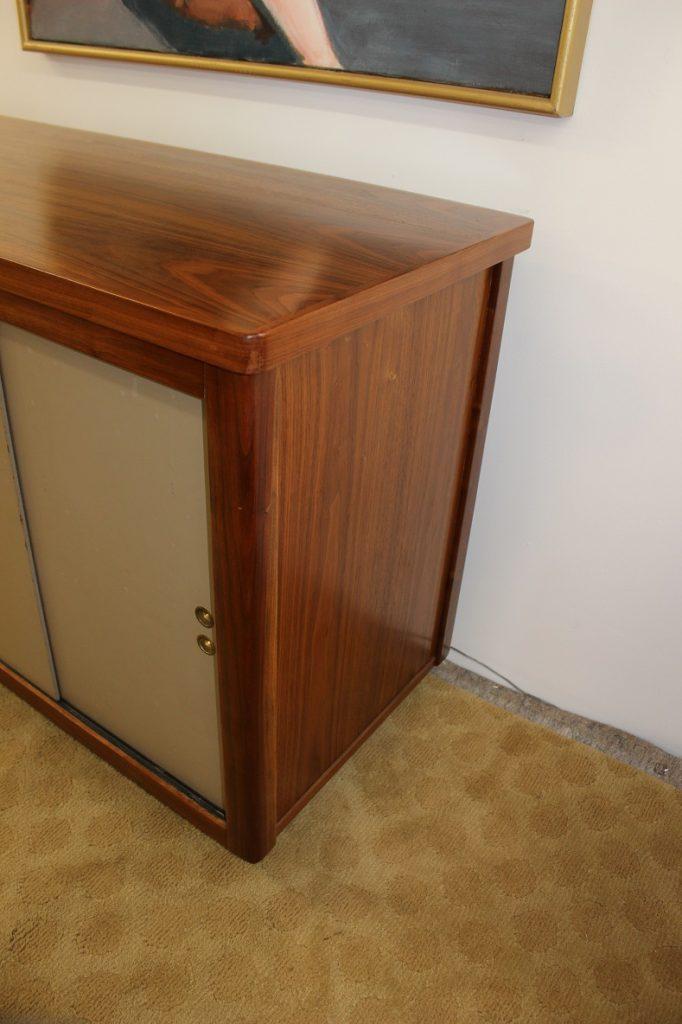 Standard Furniture Co Walnut Desk suite
