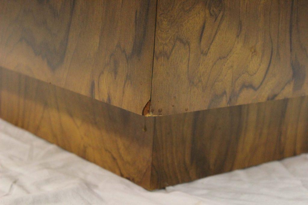 milo baughman coffee table (15) - Milo Baughman Burl Wood Coffee Table - Milo Baughman Coffee Table IDI Design