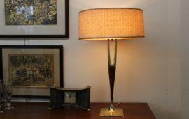 wishbone table lamp by laurel