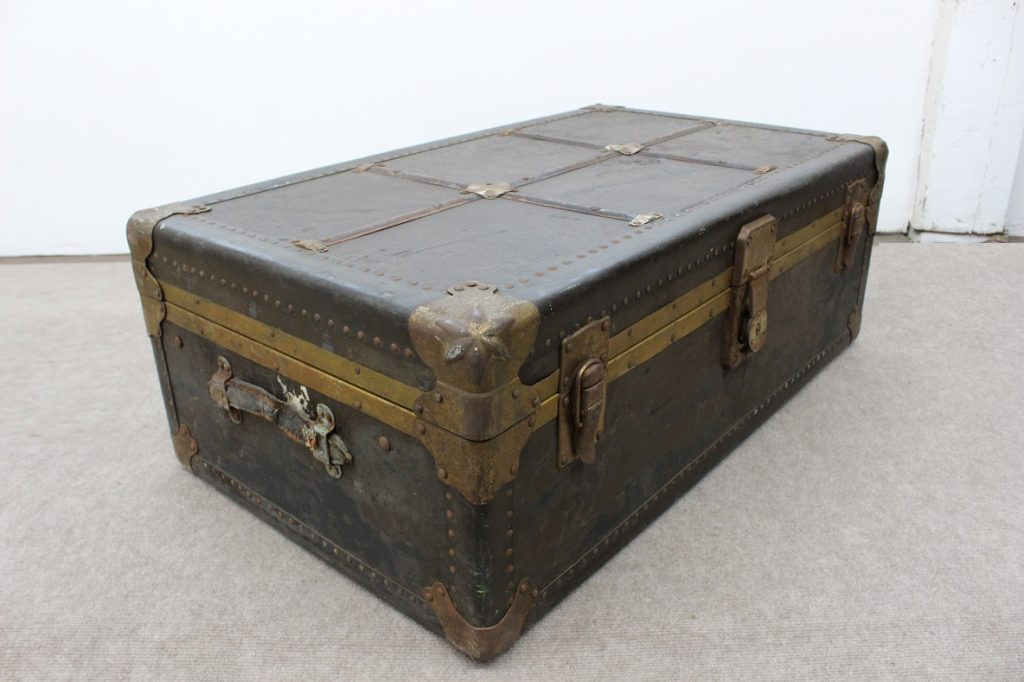 Vintage Trunk Luggage Coffee Table Specializing In Mid