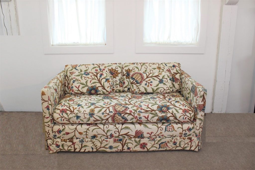 Vintage Boho Chic Floral Sofa Loveseat Specializing In Mid Century Modern Furniture And